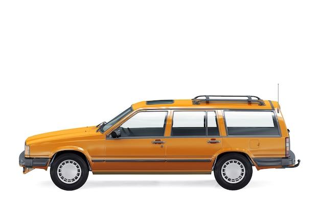 Makieta samochodu retro kombi 1985