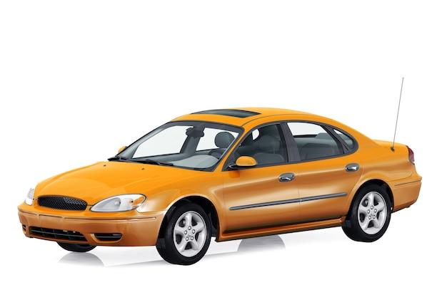 Makieta samochodu sedan 2000