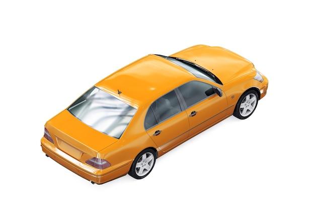 Makieta samochodu sedan 2003