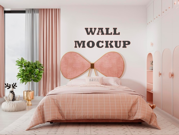 Makieta ściany recepcji