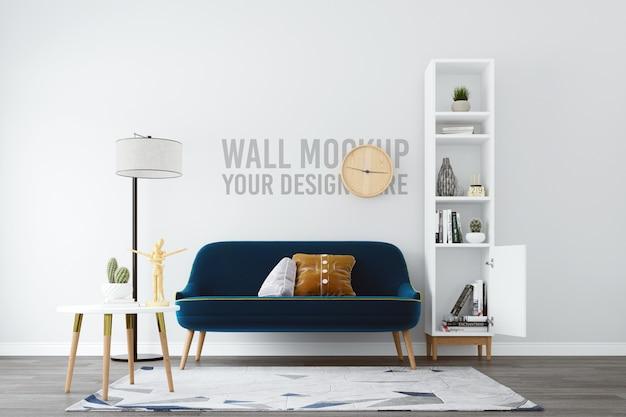 Makieta ściany salonu