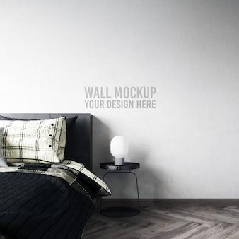 Makieta ściany sypialni