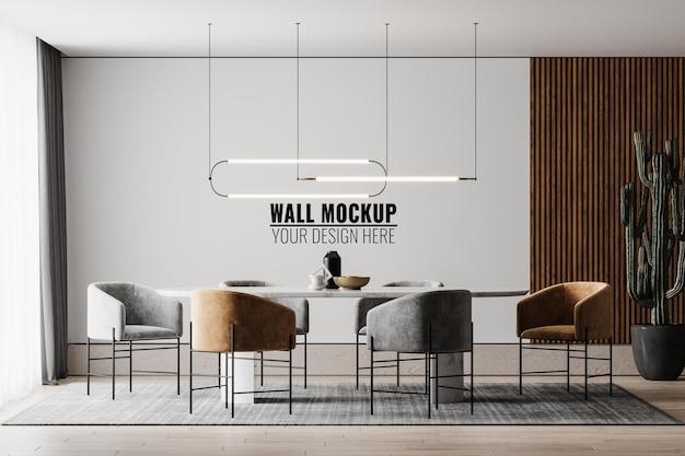 Makieta ściany wewnętrznej jadalni