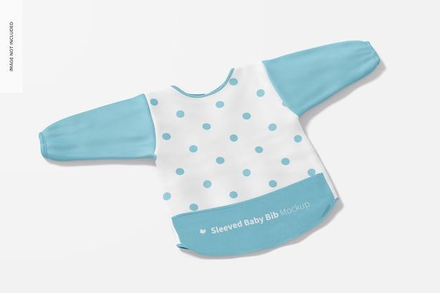 Makieta śliniaczka dla niemowląt z rękawami