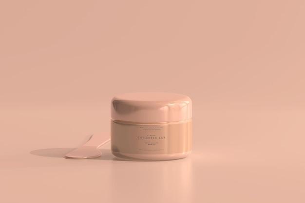 Makieta słoika kosmetycznego