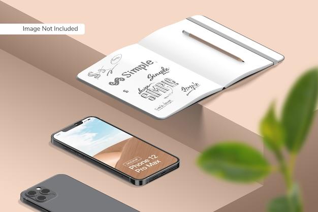 Makieta smartfona 12 pro max
