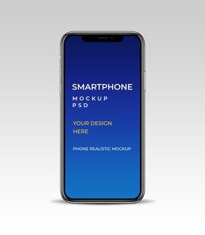 Makieta smartfona do prezentacji projektu