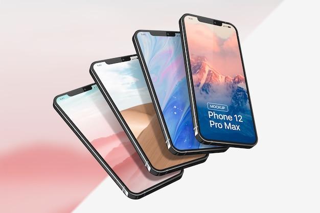Makieta smartfona pro max