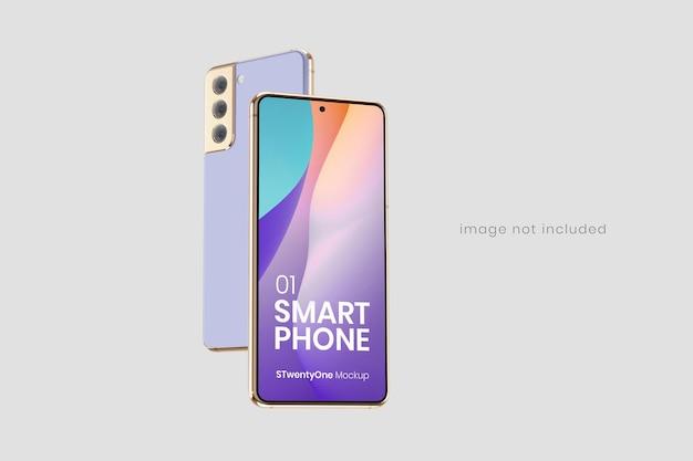 Makieta Smartfona Z Androidem Premium Psd