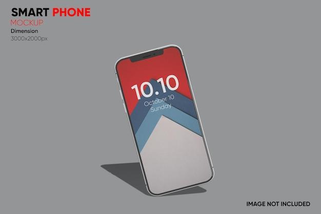 Makieta smartfona z widokiem z przodu