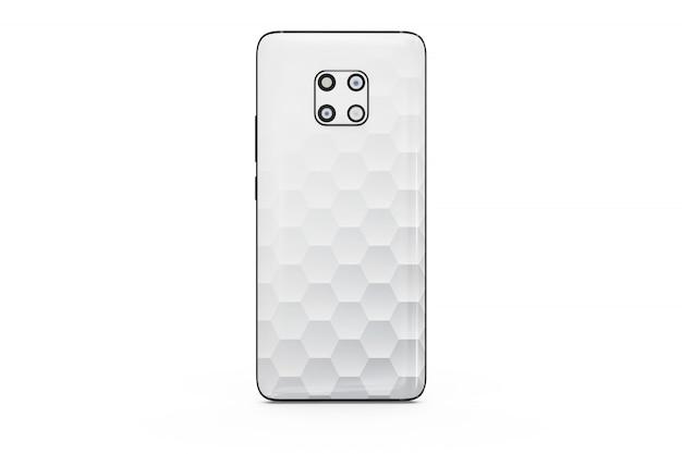 Makieta smartphone na białym tle