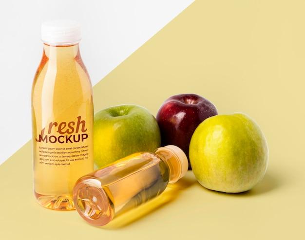 Makieta smoothie i owoców