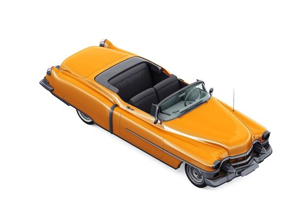 Makieta starego samochodu cabrio