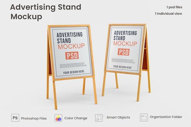 Makieta stoiska reklamowego darmowe psd