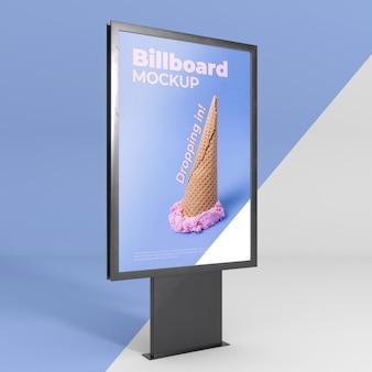 Makieta studia billboardowego