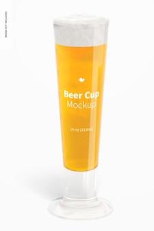 Makieta szklanego kubka piwa o pojemności 14 uncji