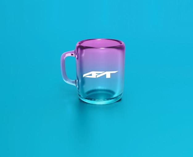 Makieta szklanego kubka