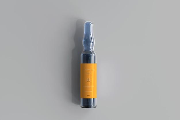 Makieta szklanej ampułki