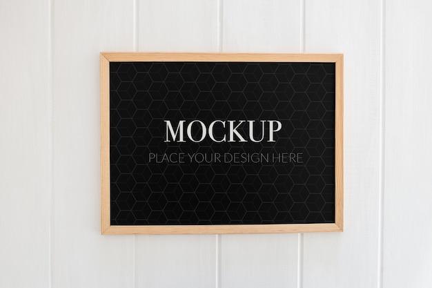 Makieta szkolnej tablicy