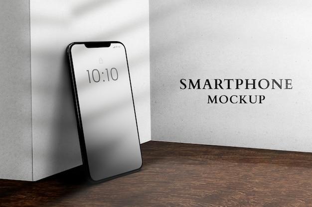 Makieta telefonu komórkowego urządzenie cyfrowe psd