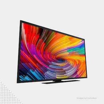 Makieta telewizora z płaskim ekranem