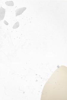 Makieta tła społecznościowego neo memphis w białym odcieniu