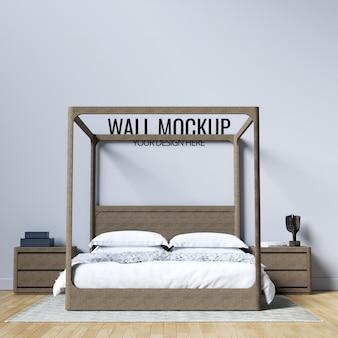Makieta tło wnętrze sypialni ściany