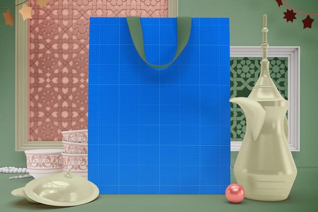 Makieta torby eid