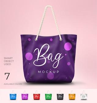 Makieta torby moda