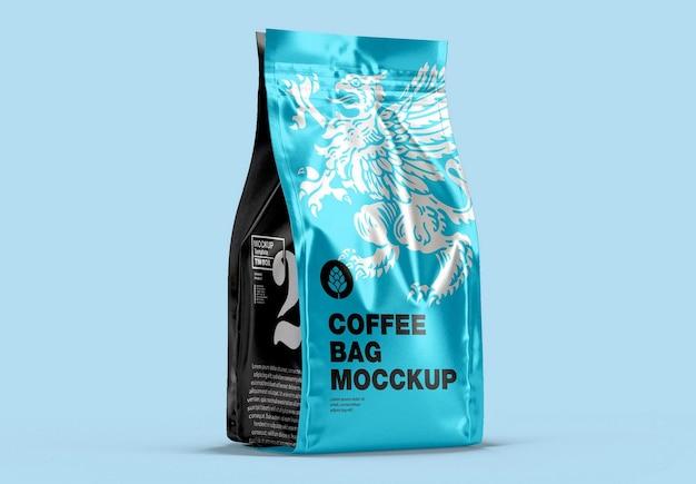 Makieta torby na kawę