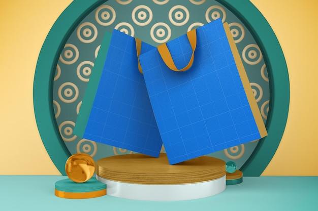 Makieta torby na ramadan