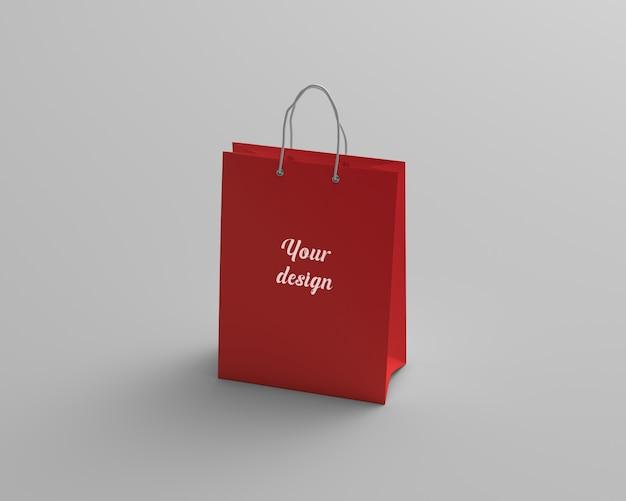Makieta torby na zakupy perspektywy