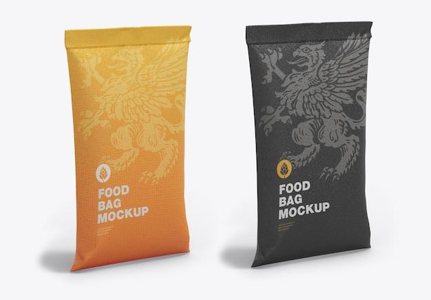 Makieta torby na żywność