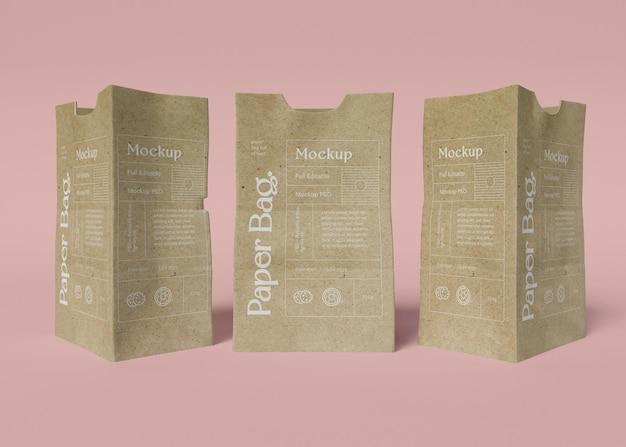 Makieta torby papierowej