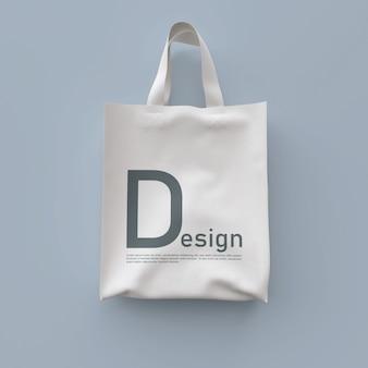 Makieta torby tekstylnej
