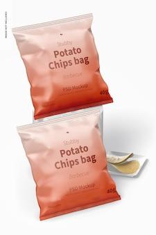 Makieta torby z chipsami stubby