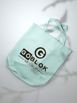 Makieta torby z materiału