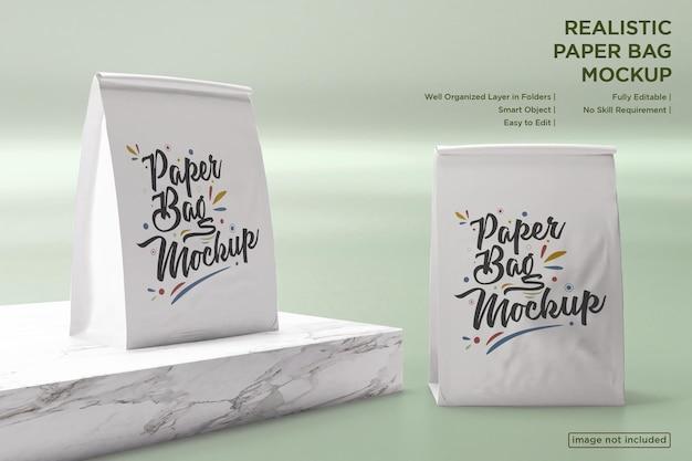 Makieta toreb papierowych