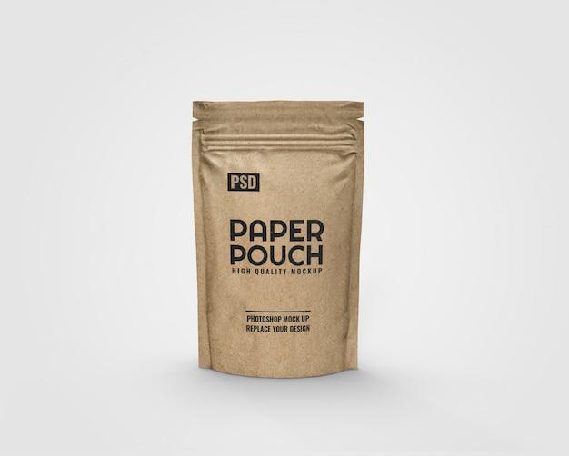 Makieta torebki papierowej