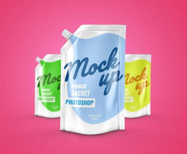 Makieta torebki reklamowej