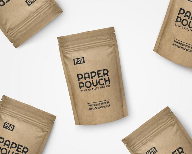 Makieta torebki z papieru