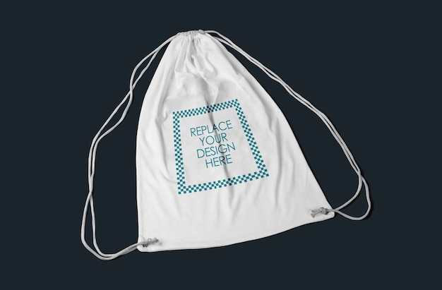 Makieta torebki ze sznurkiem