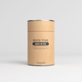 Makieta tubki papierowej