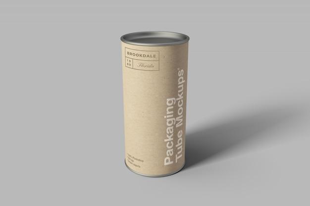 Makieta tuby kartonowej