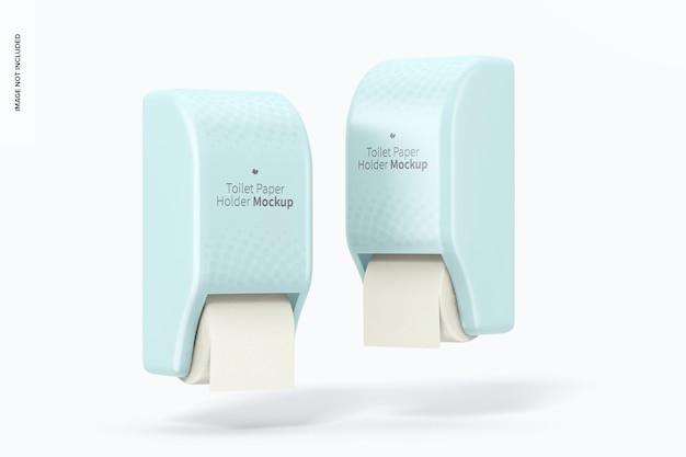 Makieta uchwytów na papier toaletowy