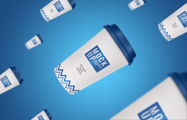 Makieta ulotki reklamowej cup