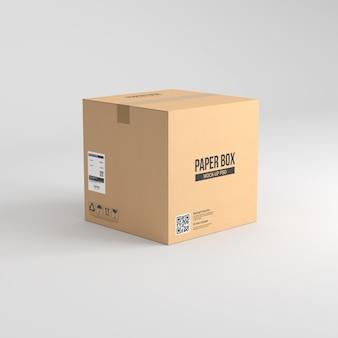Makieta w pudełku papierowym