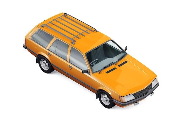 Makieta wagonu kombi 1981