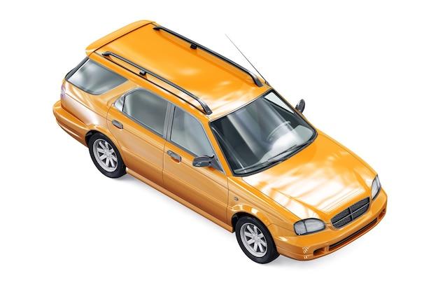 Makieta wagonu kombi 1999