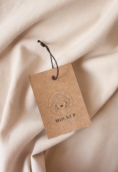 Makieta wieszaka na ubrania rzemieślnicze